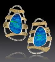 Opal-Wave-earring