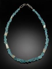 Aqua-Beads-Necklace